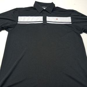 Travis Mathew polo shirt mens size Large